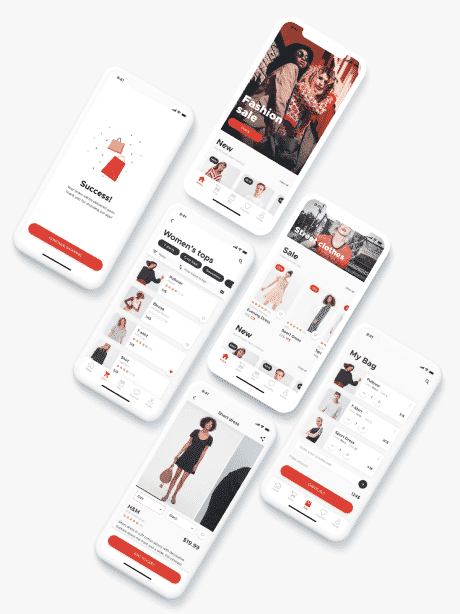 UI/UX design services by CiiAction