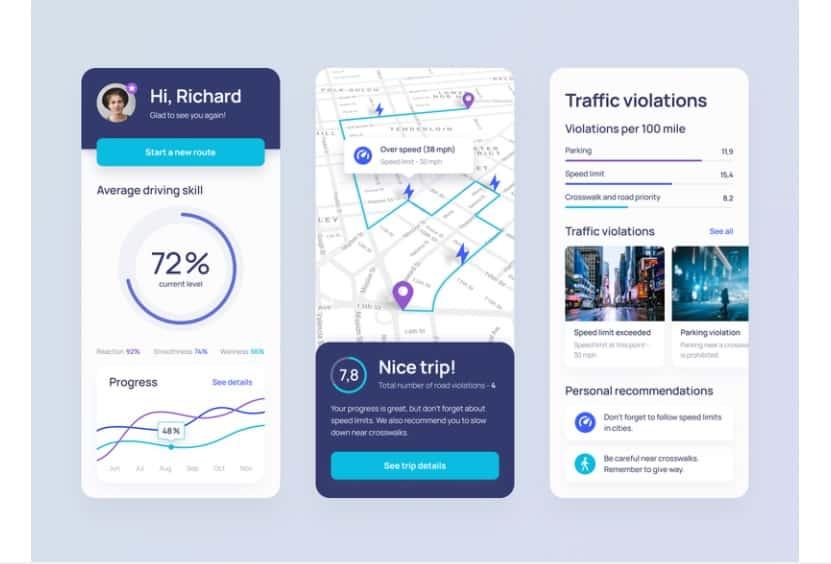 UI-UX design for app